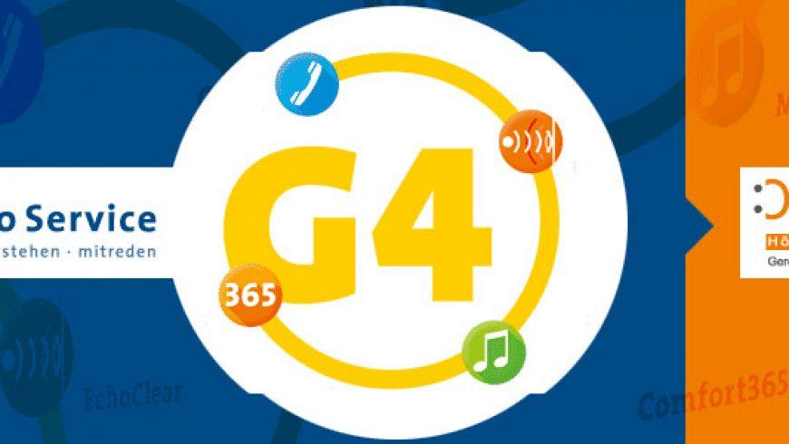 Audio Service G4 Hörgeräte Plattform und neue Modelle