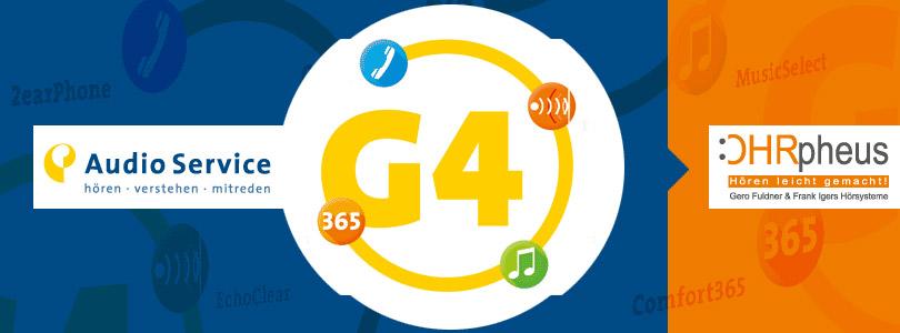 Audio Service G4 Hörgeräte-Plattform Artikelbild
