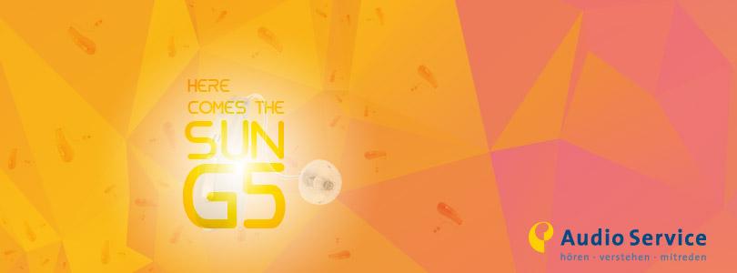 Audio Service Sun G5 Hörgerät bei OHRpheus Hörsysteme Artikelbild