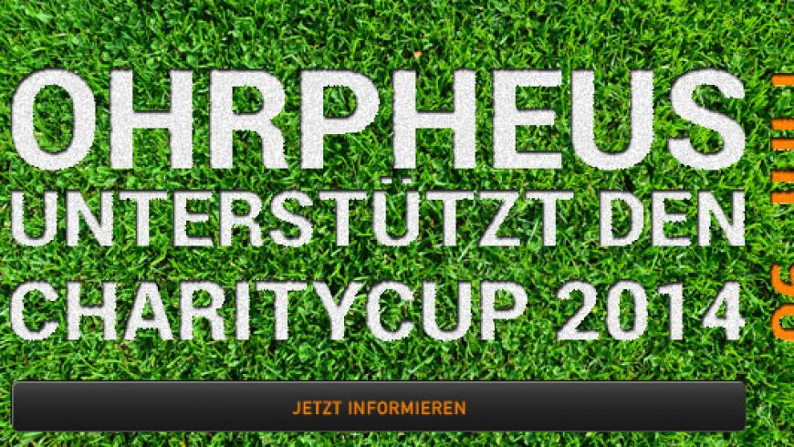 Charity Cup 2014 Würzburg mit Unterstützung von OHRpheus
