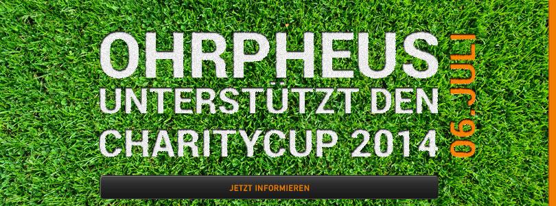 Charity Cup 2014 unterstützt von OHRpheus Hörsysteme Artikelbild
