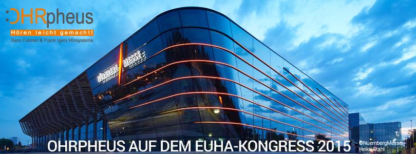 EUHA Hörgeräte Kongress 2015 Artikelbild