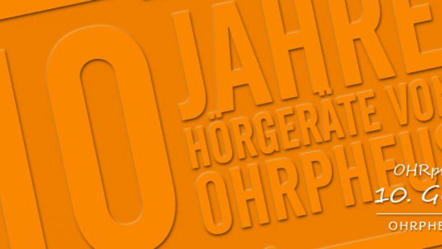 10 Jahre OHRpheus Würzburg, Mannheim, Höchberg