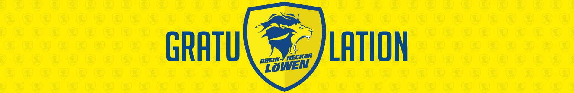 OHRpheus gratuliert den Rhein-Neckar Löwen zum Pokalsieg Sliderbild