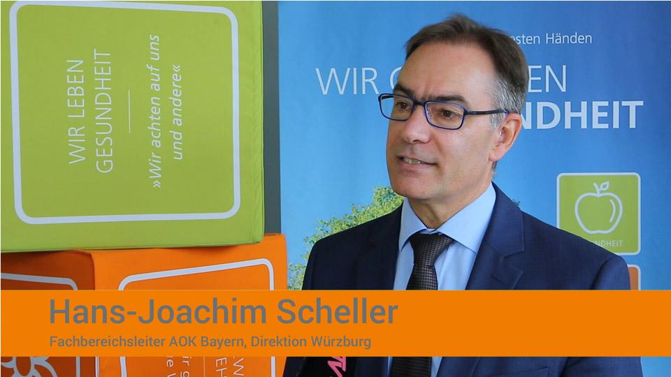 OHRpheus Ratgeber Hörgeräte Hans-Joachim Scheller, AOK Würzburg Screenshot