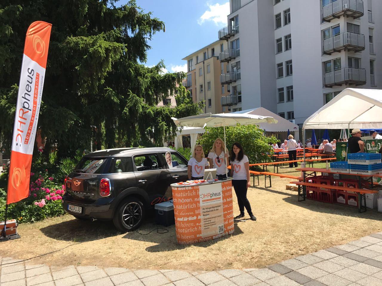 OHRpheus Sommerfest im Ehehaltenhaus Würzburg Bild vom Event
