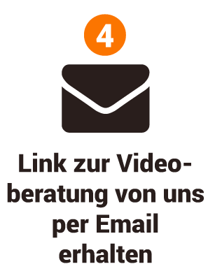 OHRpheus Videoberatung Kurzanleitung - Schritt 04: Link zur Videoberatung erhalten Icon