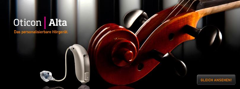 Oticon Alta Hörgerät bei OHRpheus Hörsysteme Artikelbild