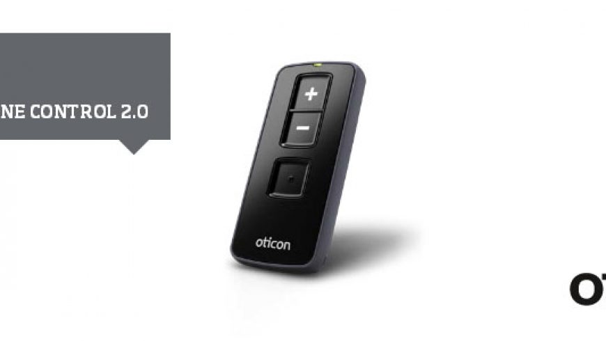 ConnectLine Control 2.0 – die Oticon Hörgeräte-Fernbedienung