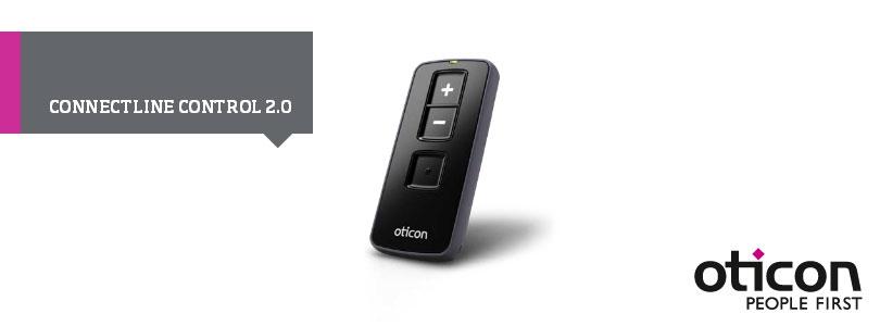 Oticon Connectline Control 2.0 Hörgeräte-Fernbedienung Artikelbild
