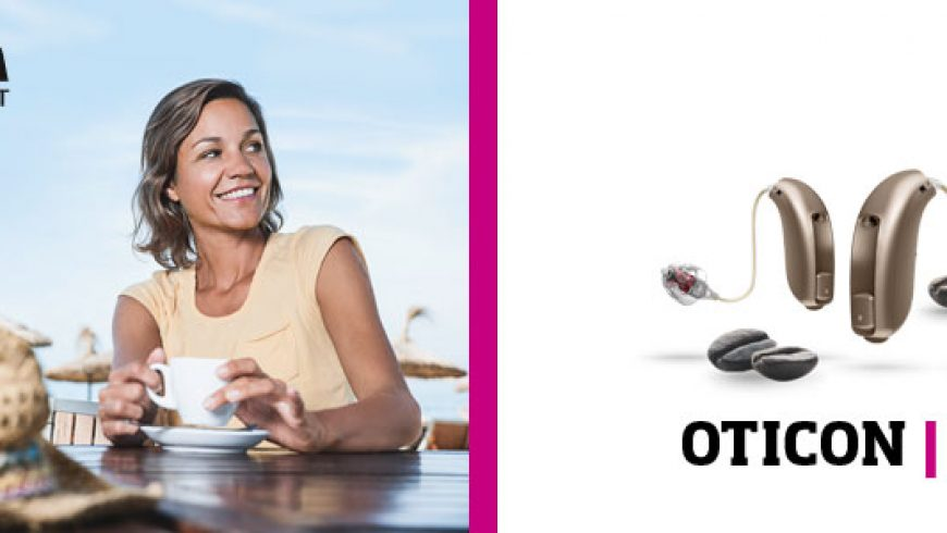 Oticon bringt Design-Hörgerät jetzt auch in der Mittelklasse