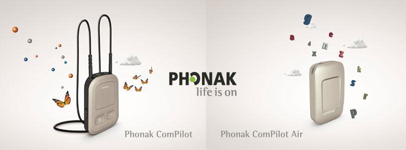 Phonak Compilot II und Compilot air II Artikelbild
