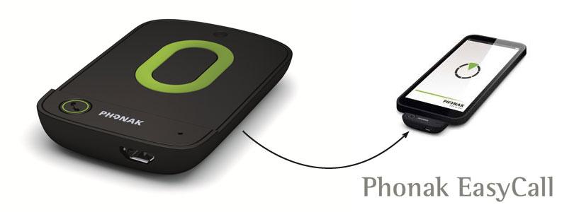 Phonak Easycall II Hörgeräte Telefonverbinder Artikelbild