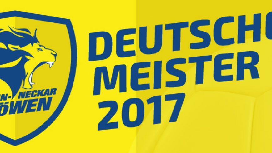 Rhein-Neckar Löwen sind Deutscher Meister 2017