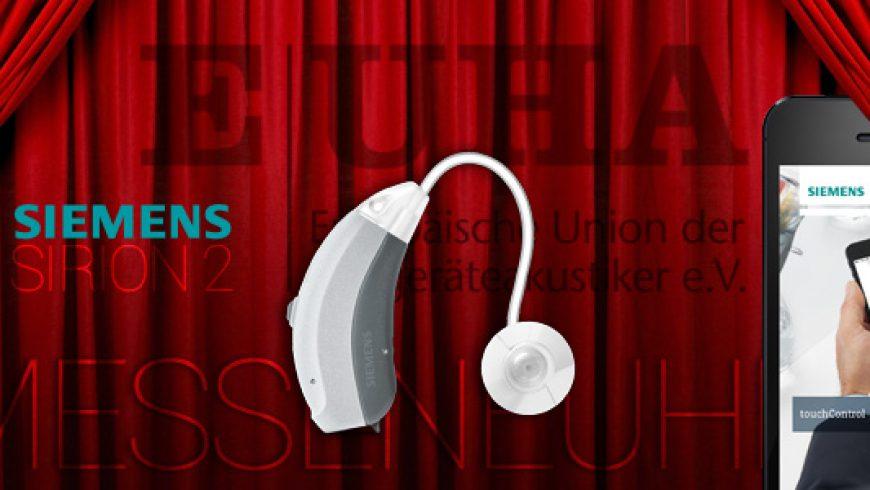 Siemens Sirion 2 Hörgerät EUHA Neuheit 2015