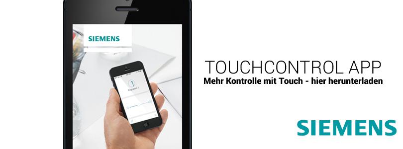 Siemens Touchcontrol App für Hörgeräte bei OHRpheus Hörsysteme Artikelbild