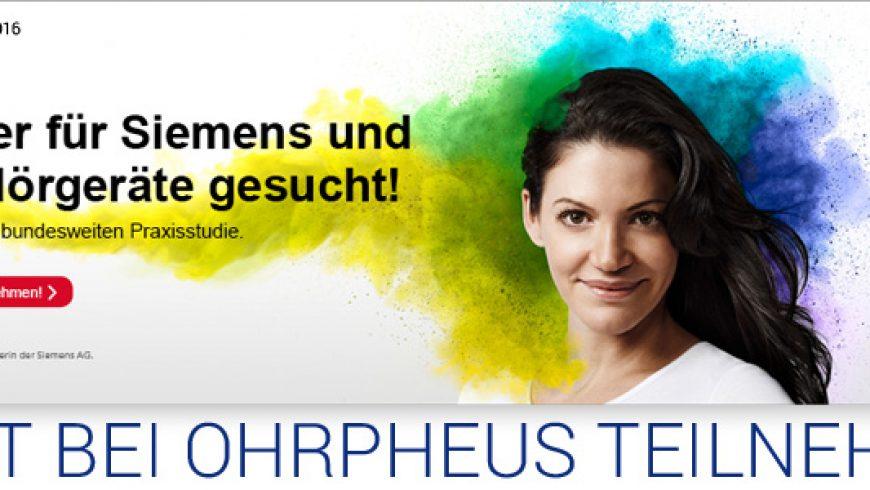 Siemens und Signia Hörgeräte Tester gesucht!