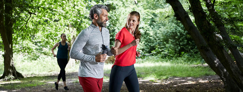 Signia Xperience Hörgerät Jogging
