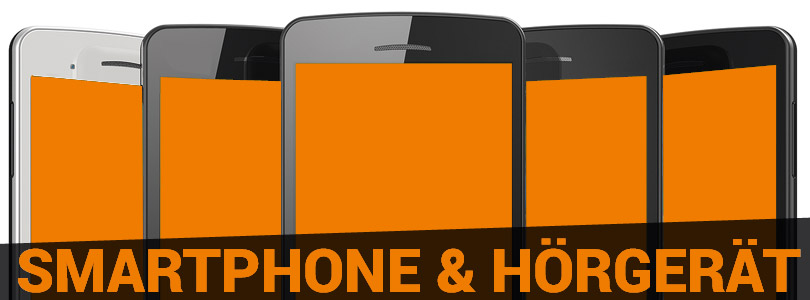 Smartphones und Hörgerät Artikelbild