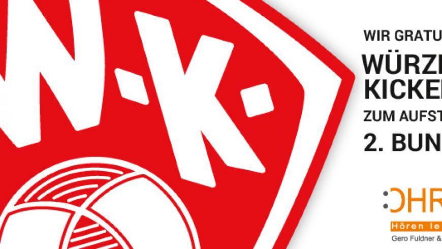 Würzburger Kickers in der 2. Bundesliga