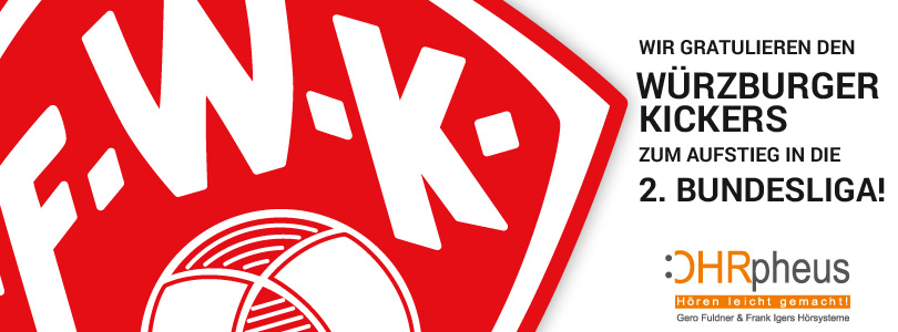 Würzburger Kickers in der 2. Bundesliga 1